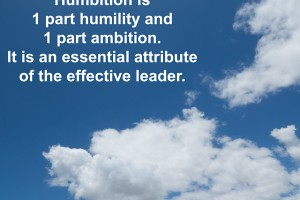 Leadership: Humbition