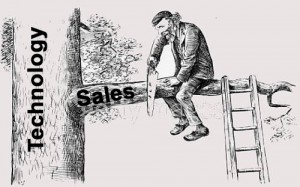 Sawing off the sales branch
