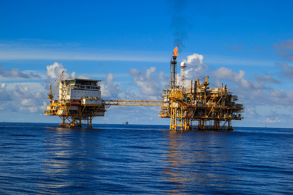 Off-shore drilling rigs