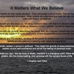 It Matters What We Believe - Sophia Lyon Fahs