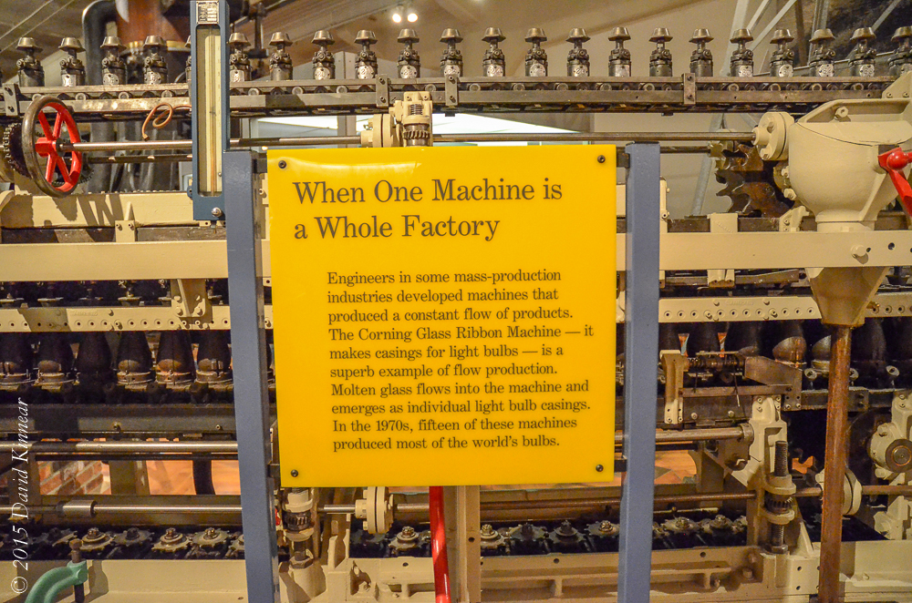 Corning Ribbon Machine