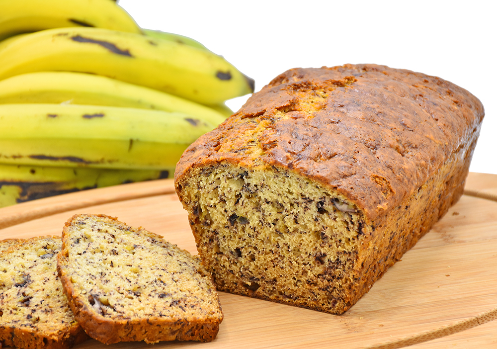 Home made Banana Nut Bread